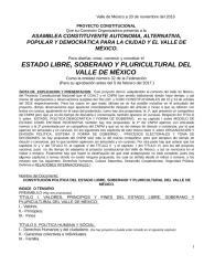 PROYECTO CONSTITUCIONAL PARA EL VALLE DE MEXICO DOS.doc