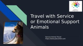 Service Animal Travel.pptx