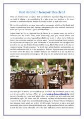 Best Hotels in Newport Beach CA.docx