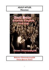 Adolf Hitler - Discurssos Completos - 1933 - 1938.pdf