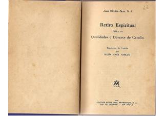 Retiro Espiritual Sobre as Qualidades e Deveres do Cristão - Jean Nicoles Grou.pdf