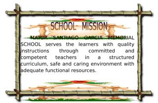 MSGMS SCHOOL MISSION AND VISION.doc