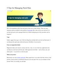 5 Tips for Managing Neck Pain.pdf