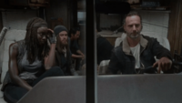Rick And Michonne Funny Touch 276966 gif